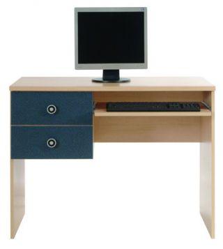 Стол письменный 2s, компьютерный, ТВИСТ (TWIST), BRW ( БРВ ), РБ