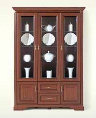 Шкаф-витрина NWIT 3d2s, СТИЛИУС (STYLIUS), BRW ( БРВ ), РБ