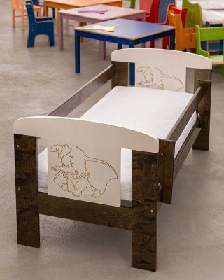 Детская кроватка с выдвижным ящиком, HolzLine (ХольцЛайн), Беларусь