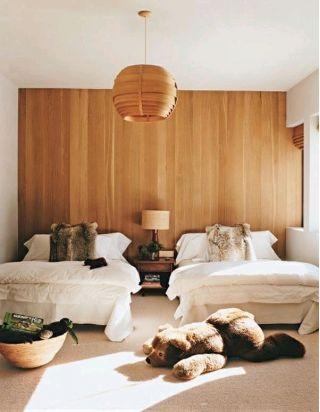 Деревянные панели - это модно!