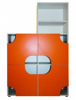 Шкаф-перегородка REG 4DL левый горка CHEESE ( ЧИЗ ), BRW ( БРВ ), РБ