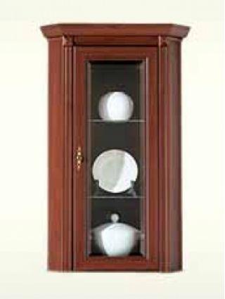 Шкаф-витрина угловая NNAD 1wn, СТИЛИУС (STYLIUS), BRW ( БРВ ), РБ