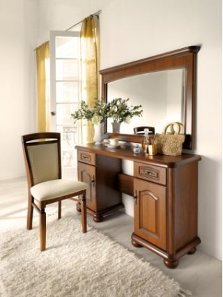 Столик туалетный с зеркалом  НАТАЛИЯ  (NATALIA), BRW ( БРВ ), РБ