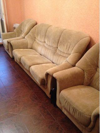 Продам мягкий угол бу и два дивана в Минске