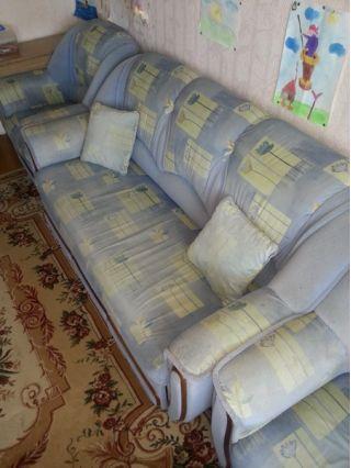 Продаю стенку и мягкую мебель БУ в Борисове