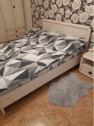 Кровать двухспальная с матрасом БУ в Минске