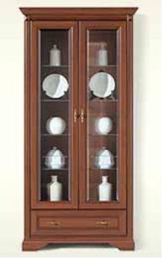 Шкаф-витрина NWIT 2d1s, СТИЛИУС (STYLIUS), BRW ( БРВ ), РБ