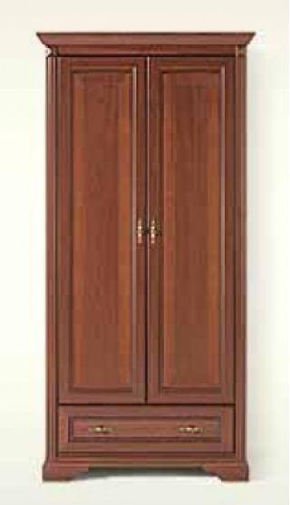 Шкаф двухдверный NREG 2d1s, СТИЛИУС (STYLIUS), BRW ( БРВ ), РБ