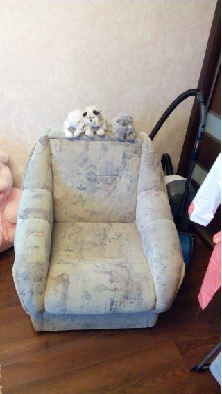 Продам диван и кресло БУ в Минске