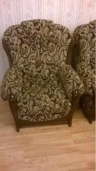 Продам диван-кровать и два кресла БУ в Минске
