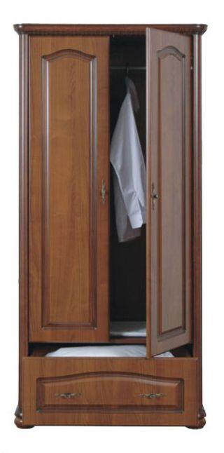 Шкаф двухдверный 100, НАТАЛИЯ (NATALIA), BRW ( БРВ ), РБ