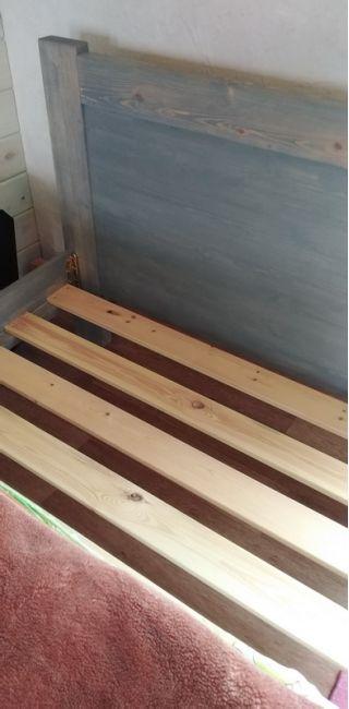 Кровать с матрасом в Вилейке БУ