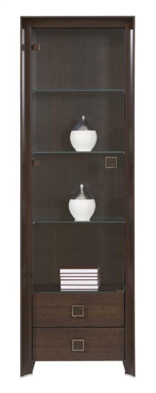 Шкаф REG 1w2s-20-6, СОРРЕНТО ( SORRENTO ), BRW ( БРВ ), РБ, ( 620*415*1980 )